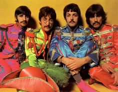 But what were the Beatles up to when they weren't shaving? Why, growing beards and moustaches, of course!