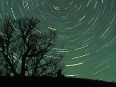 There are several major meteor showers to enjoy every year at various times, with some more active than others.