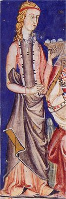 - OPUS INCERTUM -: SAYA, GONELA (II) de Mujer hasta el siglo XIV, 1275 Catigas de Santa Maria
