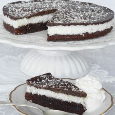 Just change the flours! No Bake Desserts, Just Desserts, Delicious Desserts, Yummy Food, Bakery Recipes, Snack Recipes, Dessert Recipes, Snacks, Scandinavian Food