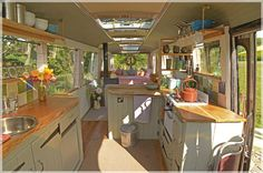 Friends and family thought this New Zealand family were crazy when they decided to leave their house and go and live in a bus. Read the how and the why in this fine article. | Tiny Homes