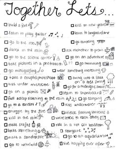 Boyfriend bucket lists · boyfriend cheap date ideas, date ideas for teens, teen boyfriend, teen dating,