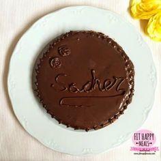Tarta Sacher healthy