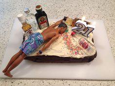 21st Birthday Cake!:                                                                                                                                                      More
