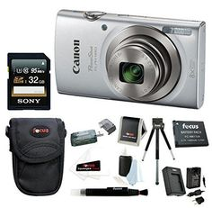 Canon PowerShot ELPH 180 20 MP Digital Camera (Silver) + 32GB Bundle http://cameras.henryhstevens.com/shop/canon-powershot-elph-180-20-mp-digital-camera-silver-32gb-bundle/?attribute_pa_color=silver&attribute_pa_style=32gb-bundle https://images-na.ssl-images-amazon.com/images/I/51i%2BrZVkzkL.jpg