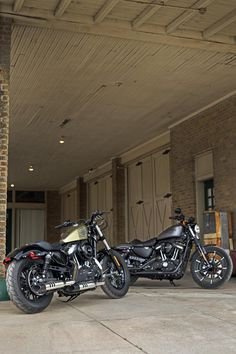 American legends. Classic style, agility, and power.   2016 Harley-Davidson Forty-Eight & Iron 883