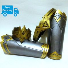Wonder Woman Costume Cosplay Armor Female Bracelet by stassklass
