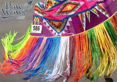 Fancy Feather vs Fancy Shawl Special at 2013 Morongo Pow Wow - Native American Regalia, Native American Artists, Native American Beadwork, Native American Fashion, American Indians, Fancy Shawl Regalia, Jingle Dress Dancer, Powwow Regalia, Feather Fashion