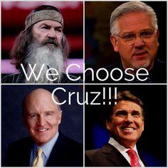 Ted Cruz is the Conservative Choice! #TedCruz2016 #TeaParty #IowaWinner