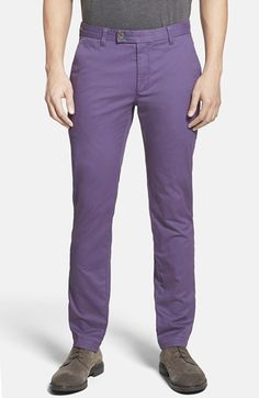 Ted Baker London 'Sorcor' Slim Fit Chinos available at #Nordstrom