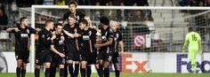 Europa League 1015/16: Alkmaar - FC Augsburg 0:1 - Augsburger Jubel: Erster Sieg in der Europa League