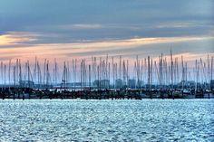 dock of the Royal Melbourne Yacht Squadron, St Kilda, Melbourne, Victoria, Australia www.rmys.com.au