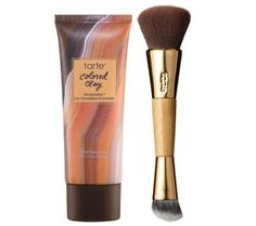 tarte Colored Clay CC Concealer  Light + Brush New & Sealed