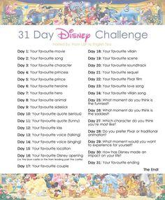 Disney challenge