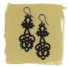 Beautiful in Black by ElizabethsLace on Etsy, $48.00