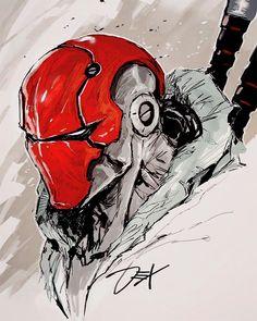 Batman Ninja Red Hood - Batman Art - Ideas of Batman Art - Batman Ninja Red HoodYou can find Red hood and more on our website.Batman Ninja Red Hood - Batman Art - Ideas of Bat. Batman Kunst, Batman Art, Marvel Art, Gotham Batman, Batman Robin, Batman Red Hood, Anime Comics, Red Hood Comic, Red Hood Dc