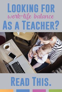 Work life balance as a teacher can seem impossible. Some teachers have found it though. Here's one story.
