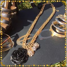Beauty Sometimes I'm speechless, well once again this it that time. It's simply gorgeous and I'm torn selling hopefully a wonderful new diva will give this ❣beauty❣ a new home!. New/tags bebe Jewelry Necklaces