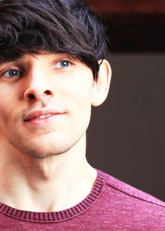 Colin Morgan ~ in this picture his hair remindsme of an Indonesian singer named Morgan, yes, Morgan. Oh, God, nooo...