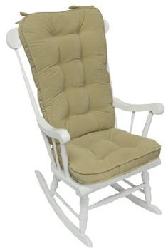 Glider Chair Covers Canada Antique Rocking Chairs With Springs 15 Best Pads Images Greendale Home Fashions Jumbo Cushion Set Hyatt Fabric Cream Outdoor Cushions