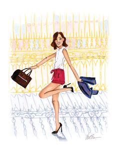 Gary Pepper Girl at Versailles – Fashion Illustration