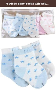 6-Piece Baby Socks Gift Set, 12-24 Months. Brand Information: Bienvenu is a formal trademark owned by Honey Cool Here. Our principle is to provide high quality product at reasonable price and excellent customer service to our customers. Product Basic Information: ** Brand: Bienvenu; ** Material: 78% Cotton, 20% Nylon, 2% Spandex. ** Gender: Toddler Baby; Product Features: ** Stretch Cuff Socks; ** Cute baby crew socks with star and dots; ** Soft and comfortable for baby feet; ** Suitable…