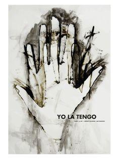 Yo La Tengo - gig poster