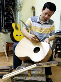 Man's sons keespan quality guitar-making alive          Deep devotion: Guitar makers like Nghia put their soul into their works of art. — VNS Photos Doan Tung    Two sons continue their father's tradition of creating quality handmade guitars, each with their own personality, despite the long-standing presence of cheaper imported i...  Vietnam Tour Expert Help: www.24htour.com Halong Bay Cruises Tour  Expert Help: www.halongcruises.com.au  #24htour  #‎vietnamtr