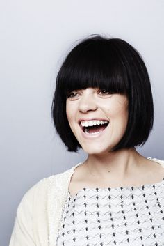 Lily Allen, Best Bob with Bangs