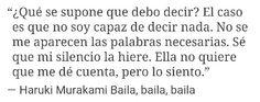 Baila, baila, baila de Haruki Murakami.