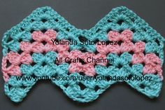 #Crochet Granny Ripple Pattern