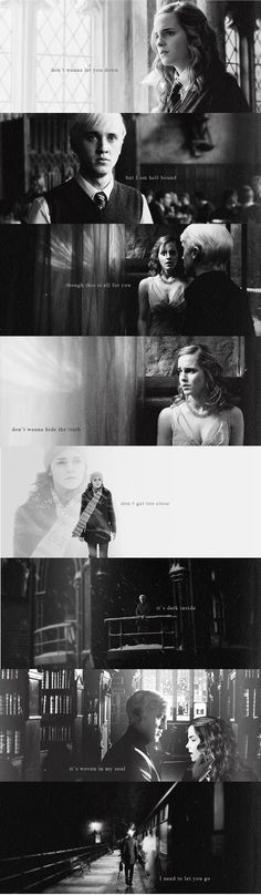 I can't escape this now * unless you show me how - [demons // imagine dragons]  / Dramione