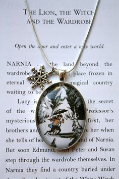 The Lion, the Witch and the Wardrobe from the Chronicles of Narnia by C.S. Lewis
