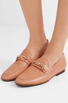 Tod's - Leather Loafers - Tan