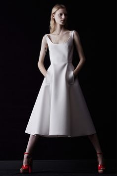 Lanvin 2014 dresses with pockets, love 'em all