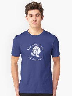 The white roses of Scotland • outlander fan art shirt with art by jazzydevil on RedBubble Also buy this artwork on apparel, phone cases, home decor, and more.