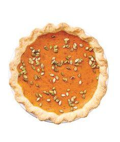 Gingery Pumpkin Pie recipe