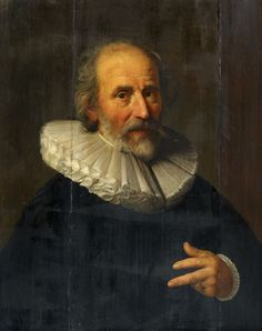 Hendrick Bloemaert, Portrait of the Painter Abraham Bloemaert