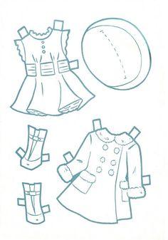 Paper Dolls~Little DressMaker Sally Lou - Bonnie Jones - Álbumes web de Picasa