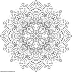 Flower Mandala Coloring Pages – You can find Mandala coloring pages and more on our website.Flower Mandala Coloring Pages – Mandala Art, Mandala Design, Stencils Mandala, Mandala Drawing, Mandala Painting, Flower Mandala, Dot Painting, Mandala Tattoo, Drawing Flowers