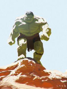 #Hulk #Fan #Art. (Hulk) By: Ryan Lang. (THE * 3 * STÅR * ÅWARD OF: AW YEAH, IT'S MAJOR ÅWESOMENESS!!!™)[THANK Ü 4 PINNING!!!<·><]<©>ÅÅÅ+(OB4E)
