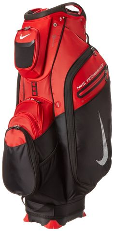 4ba1f1e35b62 With a 9.5 inch oval top these mens 2014 performance cart II golf bags by  Nike