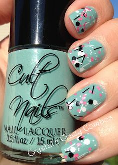 Crystal's Crazy Combos: Cult Nails Manipulative and Nostalgic Lacquer As If
