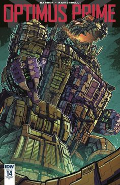 Optimus Prime Issue #14 - Full Comic Preview