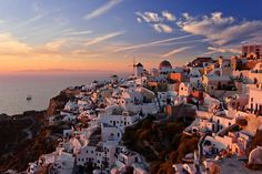 Sunset in Oia - Santorini (Thira), Greece