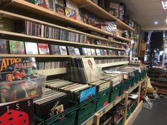 Bookstore Design, Bookshelves In Bedroom, Storm Front, Vinyl Junkies, All About Music, Penny Lane, Scenic Design, Vinyls, College Life
