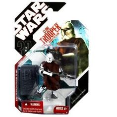 Star Wars Saga 2008 30th Anniversary Wave 1 Action Figure Clone Trooper With Cloak (Episode II) $12.99