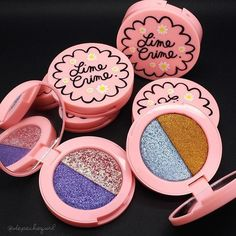 Drooling over Like Crime's new foil shades. The pigmentation is AMAZING! MUST HAVE!!