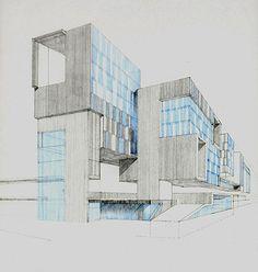 Housing and Office Accomodation, Bjorvika, Oslo, by Grafton Architects.