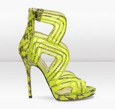 Jimmy Choo lime shoe